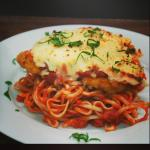 Mouth watering chicken parmesian
