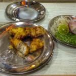 250 gms boneless tandoori chicken for 250 rupees aprox.