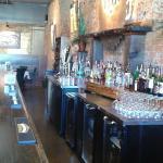 The beautiful bar!