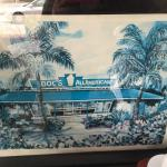 Vintage rendering of Doc's...faded but still cool.