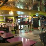 Kitchen & social area