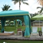 cabanas to rent, quite expensive