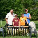 Family Fishing, Timber Trails Resort