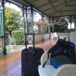 verandah at gattonside