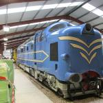Prototype Deltic on loan from the NRM