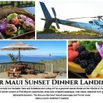 Exclusive New Sunset Dinner Landing