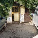 entrada, casa rural