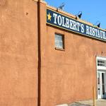 The side of the Tolbert's Restaurant