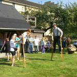 Interactive Activities Walking on Stilts