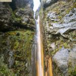 Cascada de Huerta Sacha, dentro de la Reserva