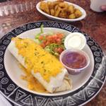 Breakfast burrito special