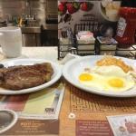 T-Bone breakfast.