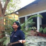 Enjoying the nature under Bodhi Tree