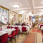 Den smukke restaurant, med det historiske interiør. Foto: Axel Vermehren