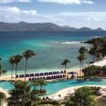 The infinity pool at The Ritz-Carlton, St. Thomas