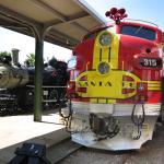 Santa Fe Diesel with War Bonnet Motif