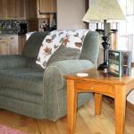 Comfy chair in Great Room