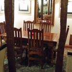 The alcove - and the only decent table