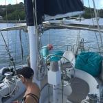 On board a Gallant 53