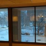 It snows in Denver