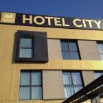 Hotelseiten Eingang