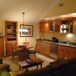 Küchenbereich des Apartment