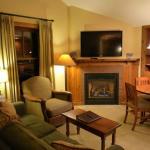 Wohnzimmerbereich des Apartment