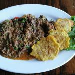 Ropa Vieja and Tostones