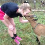 Goat 'kiss'