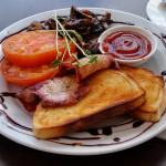 Mushroom Delight Breakfast