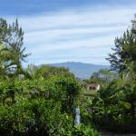 View from my room at Villa Escazu.