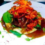 Slow cooked Beef Cheek! Yum!!!