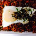 Kin chee fried rice - take out