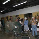 La teinturerie devenue lieu d'exposition .