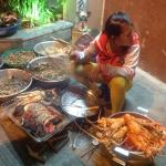 street food nearby - yummo lobster, prawns, squid etc.  you must try. delicious