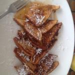 Continental Breakfast- French Toast and Pineapple Juice