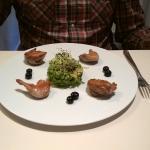 Salad de Caille Rotie