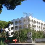 façade de l'hotel