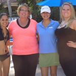Fernanda and Monika added so much fun by the pool!!