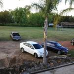 Estacionamento em obras.