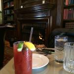 Bloody Mary fireside!!!