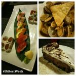 Red Curry Coconut Ginger-Infused Steamed Clams | Sushi Trio | Chocolate Mousse #INRestWeek #Ugly