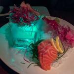 Sashimi plate. Outstanding presentation and taste.