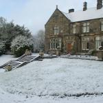 Hargate in the snow