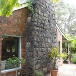 Bluestone chimney