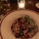 My go to dish. Wild mushroom risotto.