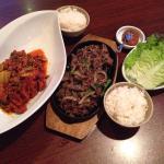 Bulgogi and Pork/Kim Chi Dok Um