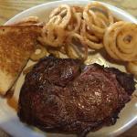 Best Rib Eye Steak in southern Texas!