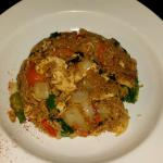 Spicy Thai Fried Rice with Chicken
