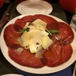 Bresaola carpaccio, very good!